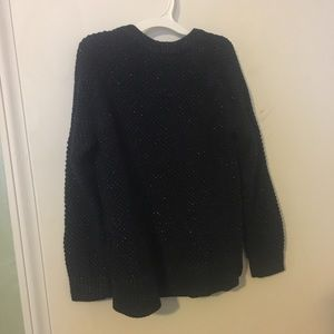 Sparkly kids sweater